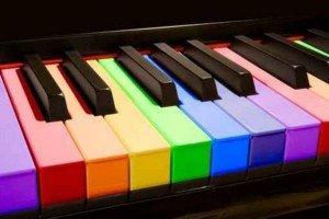 a la couleur de la musique